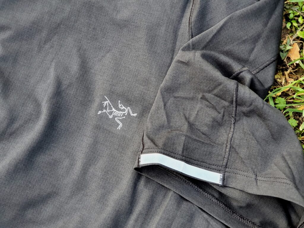 Arcteryx Cormac Crew T-Shirt reflektierende Elemente