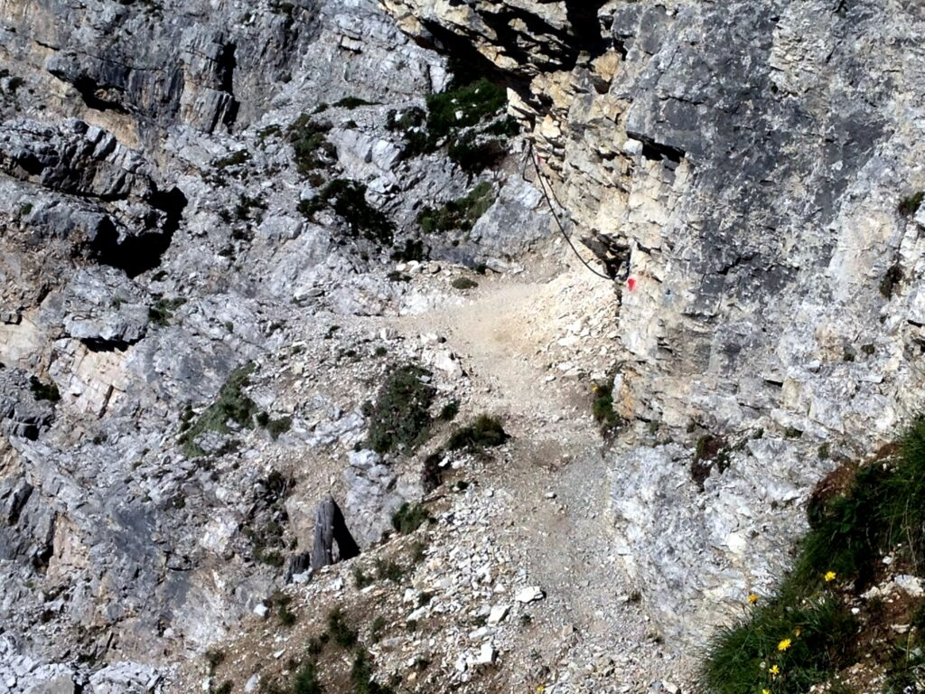 Band in den Dolomiten