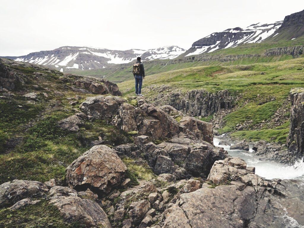 Bergwandern in Island