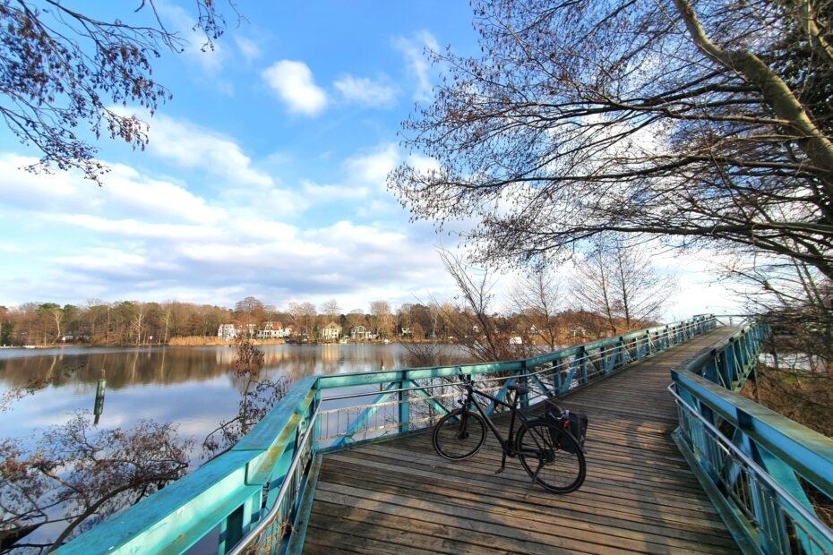 Berliner Nordwesten Radtour: Brücke an der Havel kurz vor Spandau
