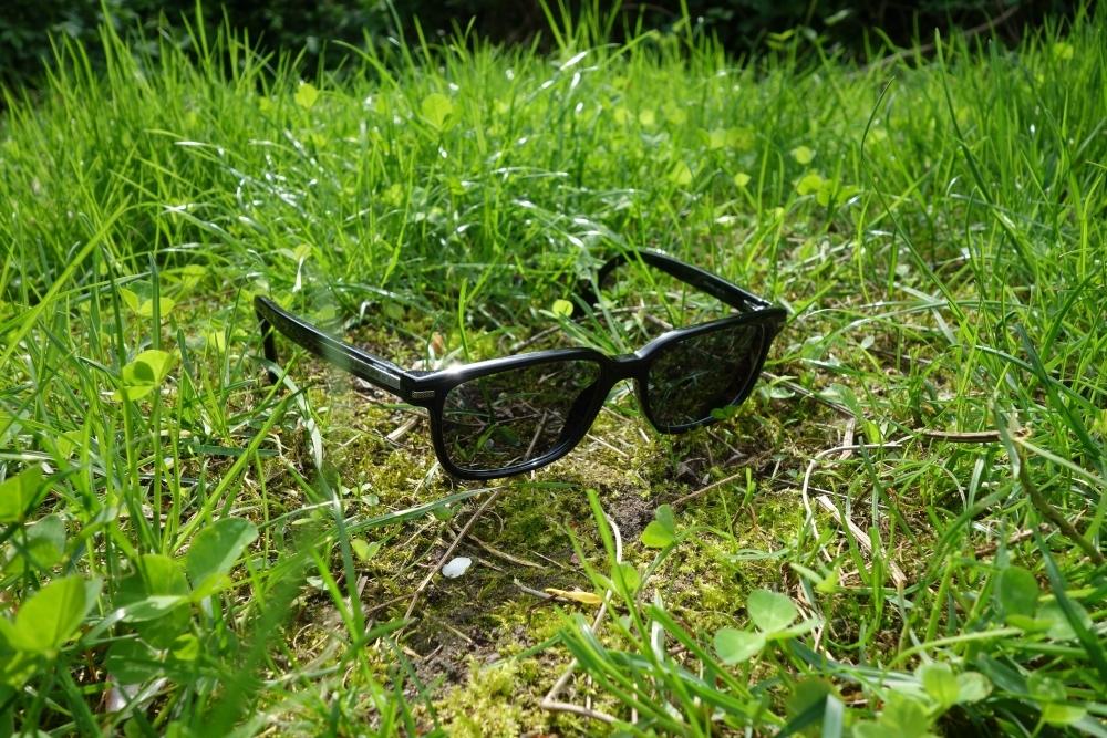 Brille mit selbsttönenden Gläsern