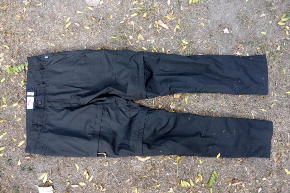 Fjällräven Traveller Zip-Off Trousers Vorderseite
