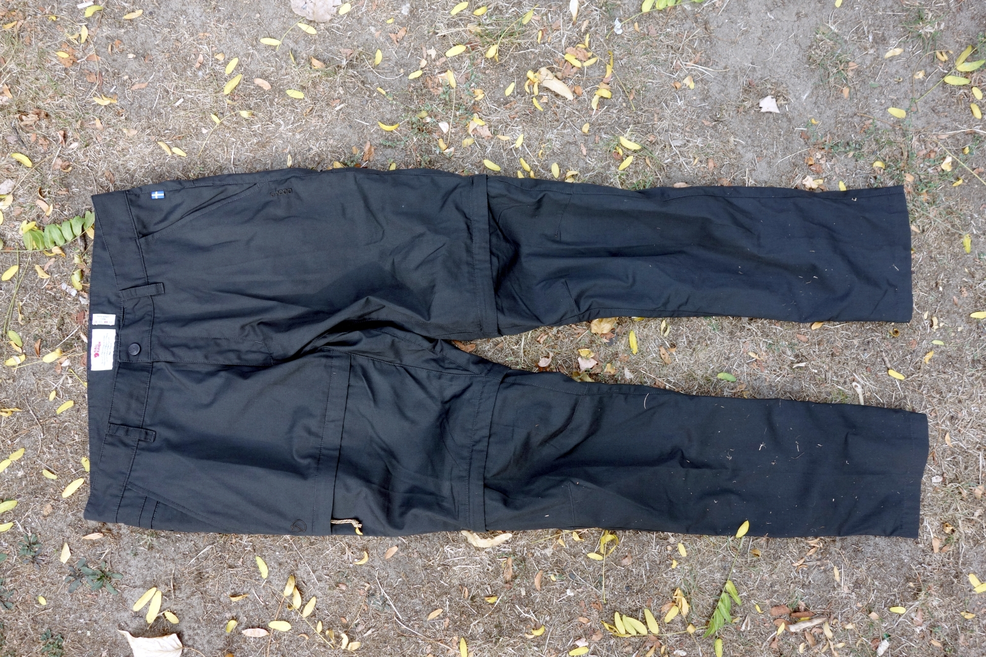 Fjällräven Traveller Zip-Off Trousers Vorderseite