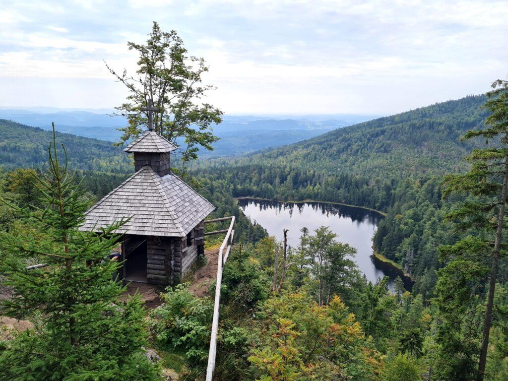 Gipfelrundtour Bayerischer Wald: Rachel-Kapelle
