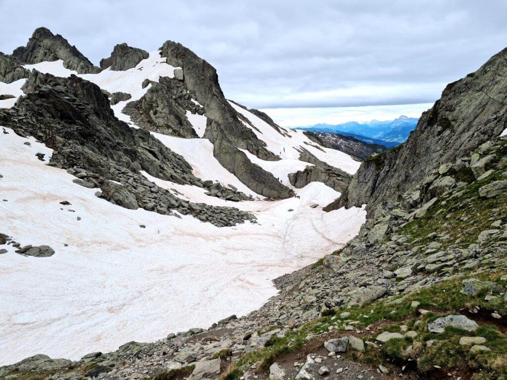 Grande Traversée des Alpes Teil 2: Schneereicher Grand Balcon du Mont-Blanc