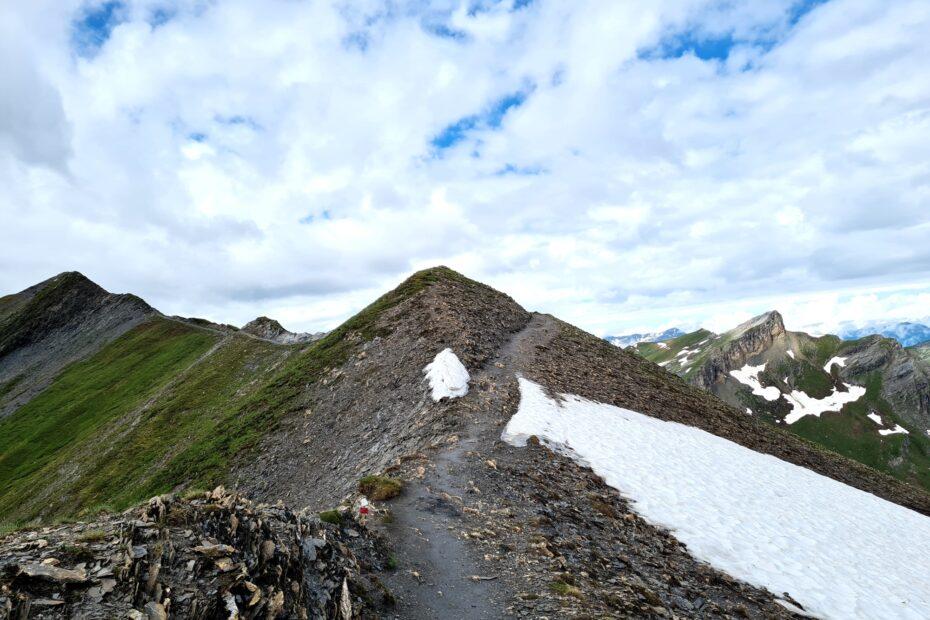 Grande Traversée des Alpes Teil 3: Crête des Gittes