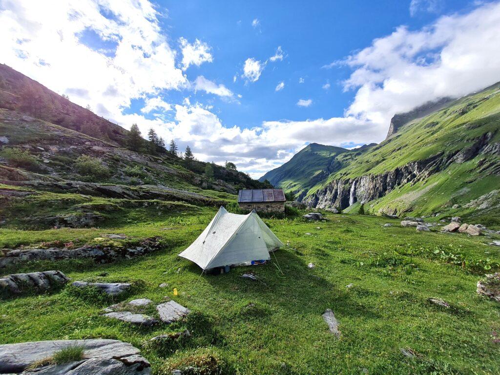 Grande Traversée des Alpes Teil 4: Nachtlager im Ponturin-Hochtal