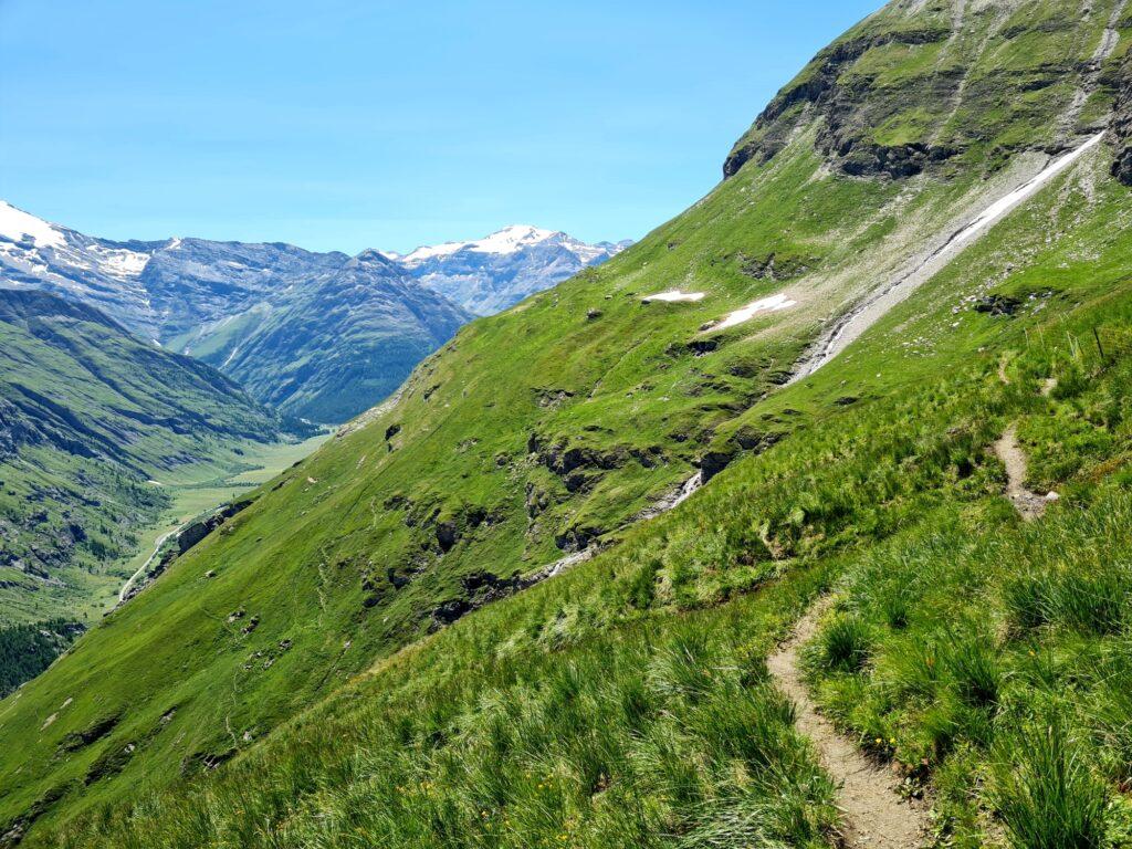 Grande Traversée des Alpes Teil 4: Balkon hoch über dem Arc-Tal