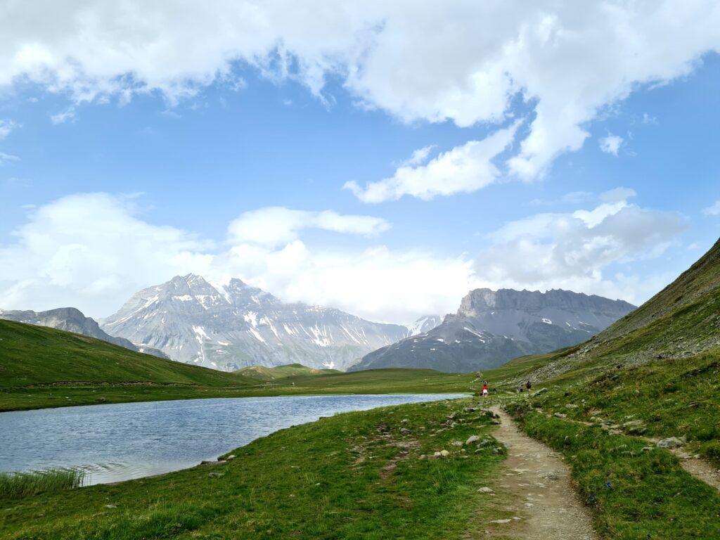 Grande Traversée des Alpes Teil 5: Plan du Lac mit Vanoise-Massiv