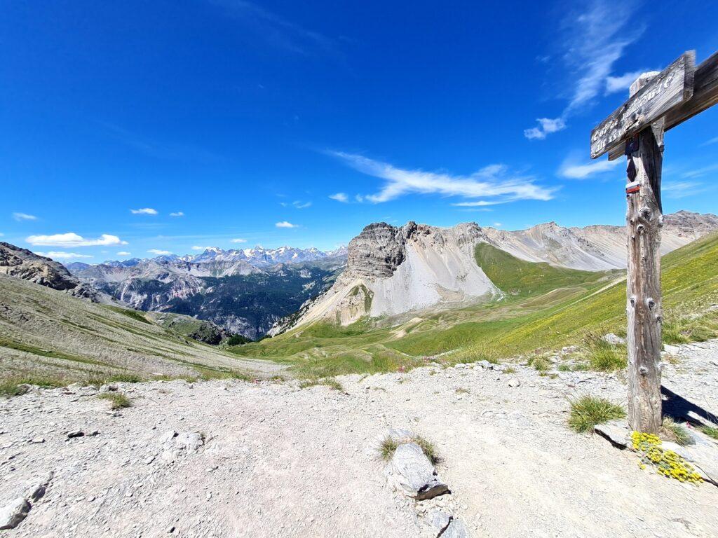 Grande Traversée des Alpes Teil 6: Col des Thures mit Écrins-Panorama