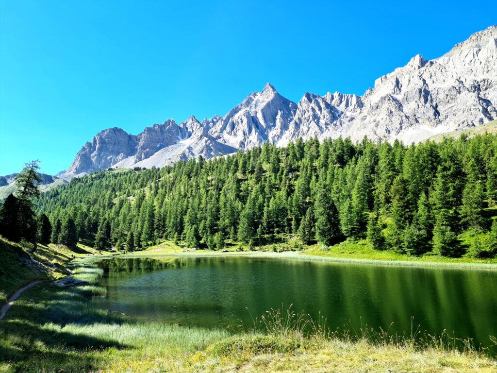 Grande Traversée des Alpes Teil 7: Lac Miroir mit Pics de la Font Sancte