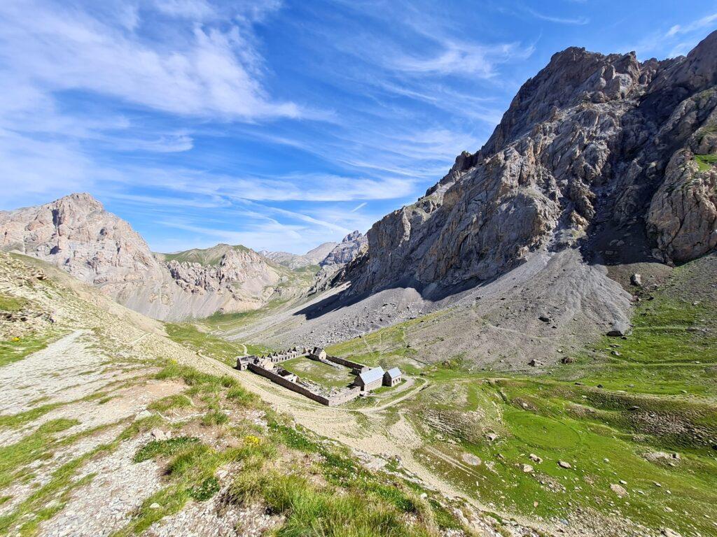 Grande Traversée des Alpes Teil 7: Baraquements de Viraysse