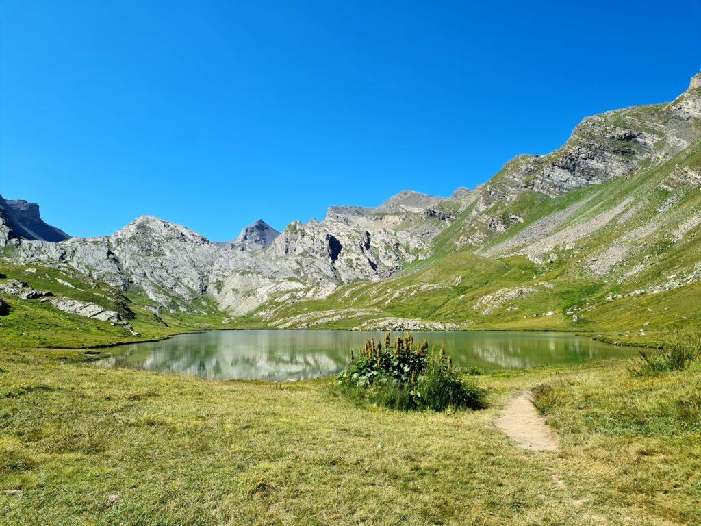 Grande Traversée des Alpes Teil 8: Lac du Lauzanier, Nationalpark Mercantour