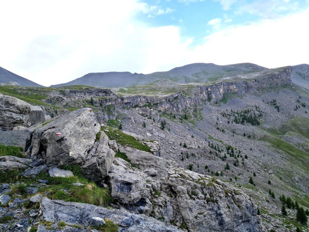 Grande Traversée des Alpes Teil 8: Barre de Sallevieille, Nationalpark Mercantour