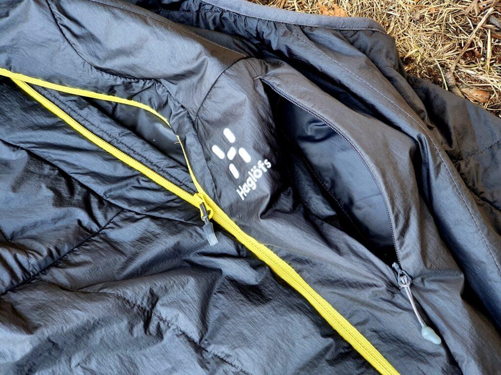 Brusttasche der Haglöfs L.I.M. Barrier Vest