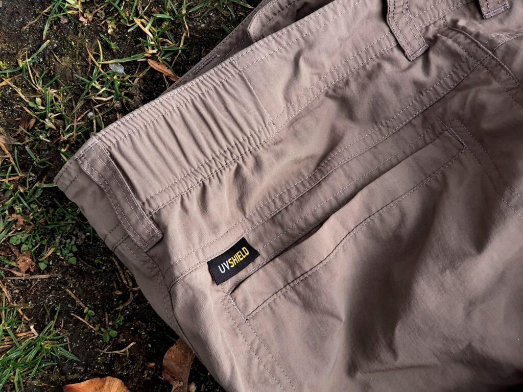 Gesäßtasche der Jack Wolfskin Canyon Zip Off Pants