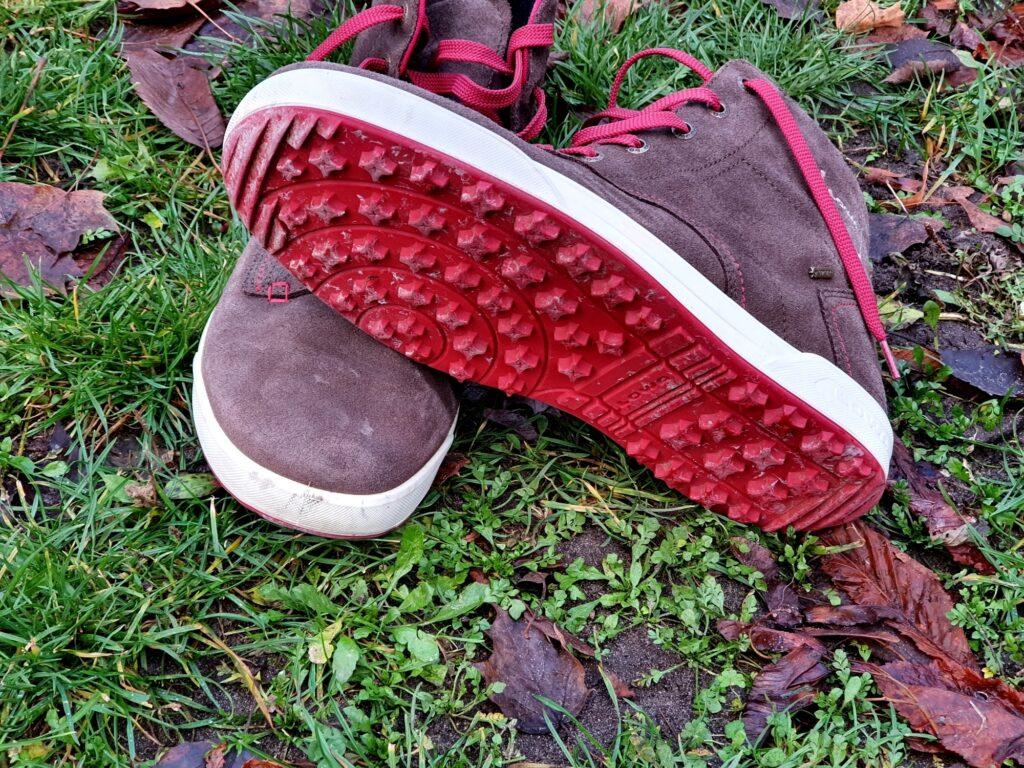 Rutschfeste Sohle der Lowa Dublin GTX Schuhe