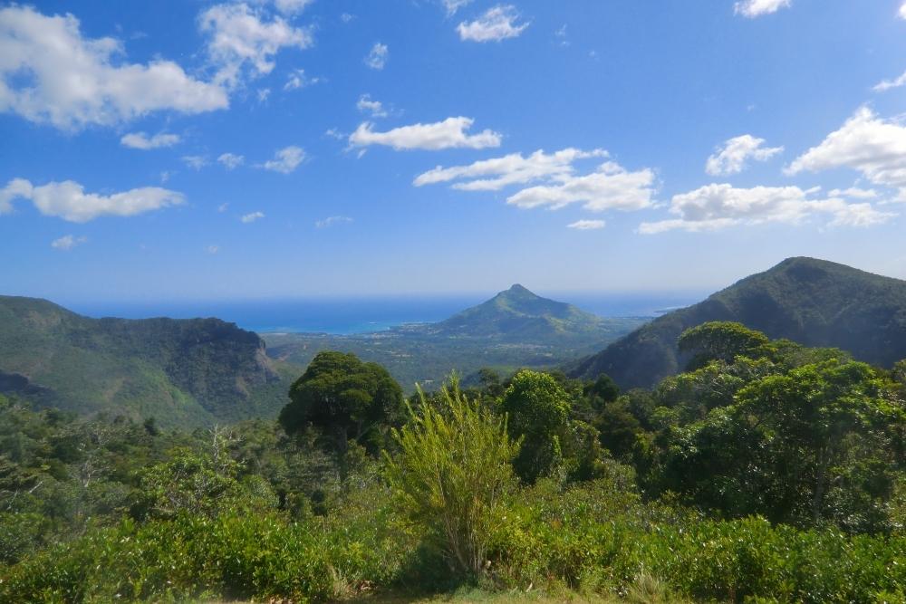 Macchabee View Point, Mauritius