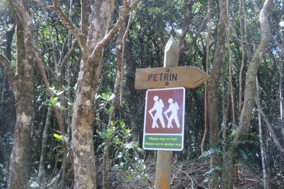 Wegweiser, Black River Gorges National Park, Mauritius