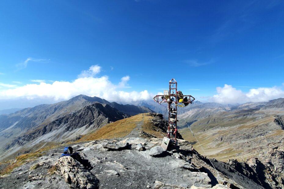 Gipfelkreuz des Monte Losetta