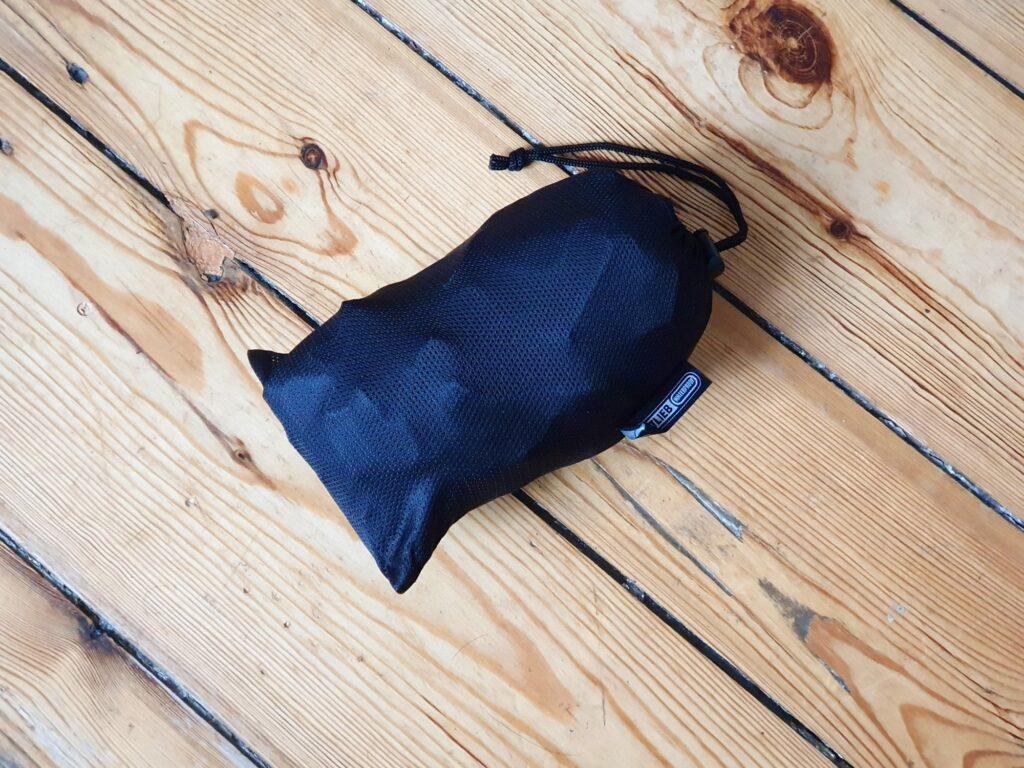 Netztasche zum Verstauen des Ortlieb Light-Pack Two Rucksacks
