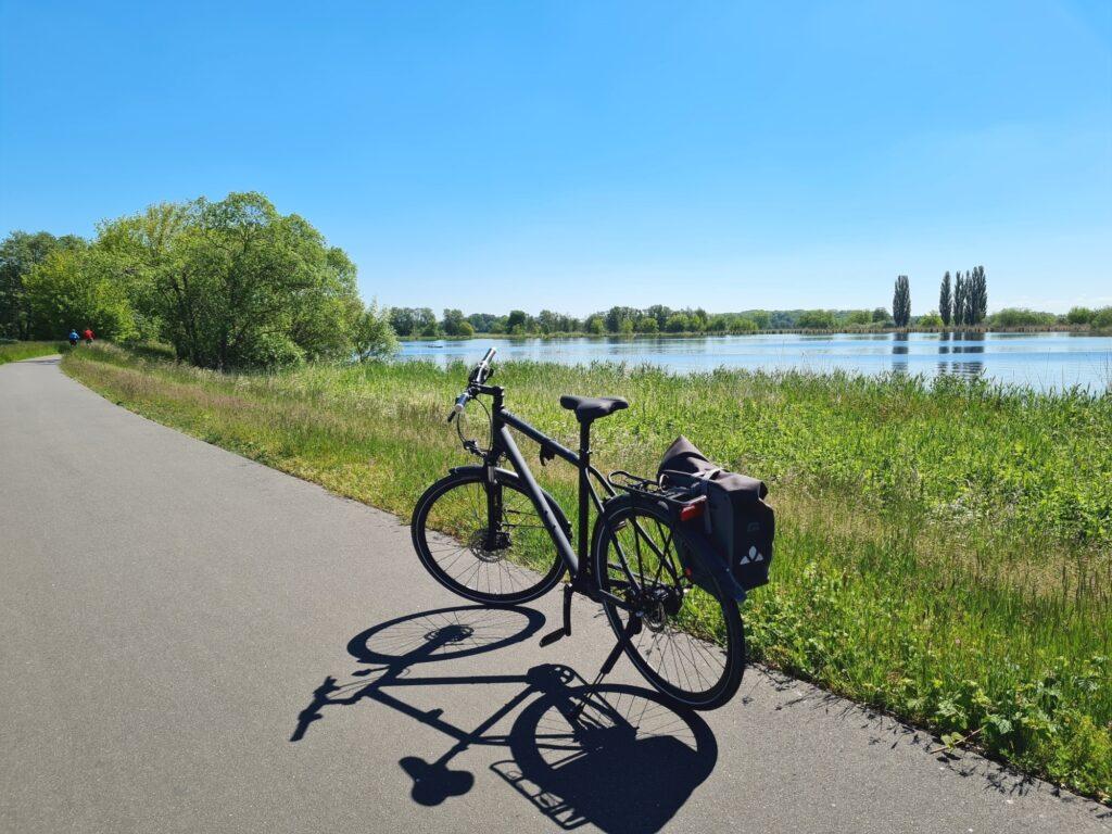 Auf der Radtour an der Havel von Potsdam nach Kirchmöser bei Ketzin