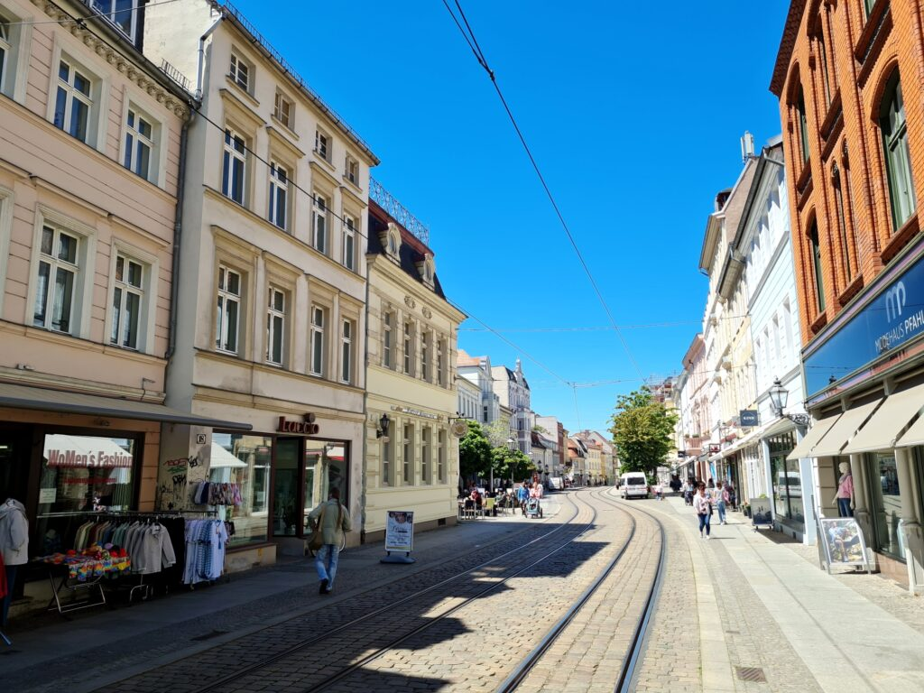 Aldstadt von Brandenburg/Havel, das auf der Radtour an der Havel von Potsdam nach Kirchmöser liegt