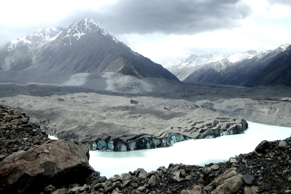 Tasman Glacier und Tasman Lake