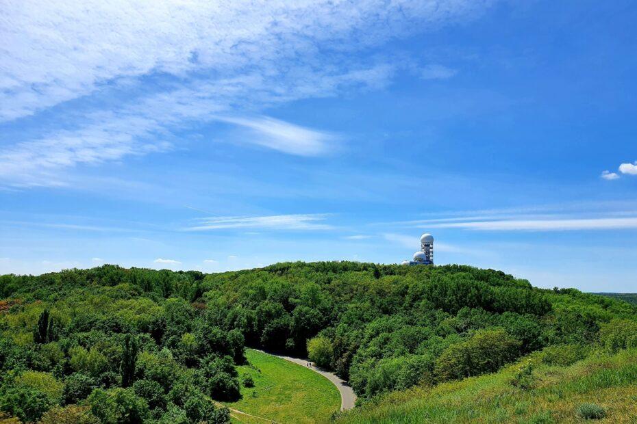 Blick auf den Teufelsberg vom Drachenberg